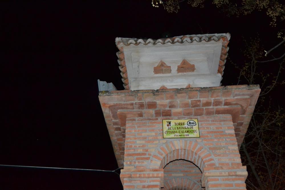 Placa conmemorativa de la batalla de Cutanda