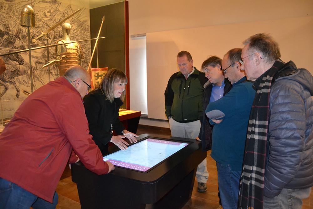 visita al centro de interpretación de Las Navas 2