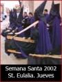 Semana Santa 2002: Jueves Santo en Santa Eulalia