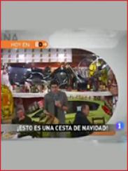 La cesta de navidad más grande de España (2009)