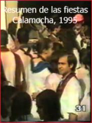 Resumen de las fiestas patronales: Calamocha, 1995