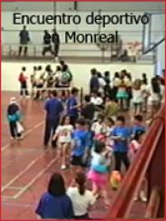 Encuentro deportivo en Monreal del Campo