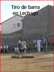 Campeonato de tiro de barra aragonesa en Lechago