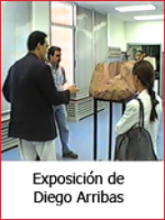 Exposición de esculturas de Diego Arribas (1996)