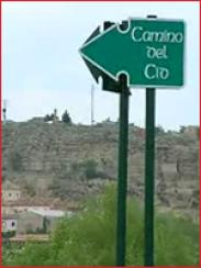Noticia Camino del Cid (2008)