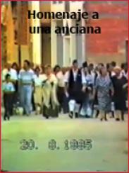 Homenaje a una anciana (Monreal del Campo, 1995)