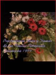 Proclamación Reina y Damas de las Fiestas Patronales. Calamocha 1999