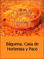 Sabor rural. Báguena (2001)