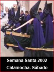 Semana Santa 2002: Sábado Santo en Calamocha
