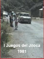 I Juegos del Jiloca. Año 1981