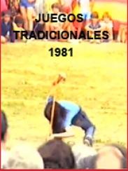 Juegos tradicionales. Monreal del Campo, 1981