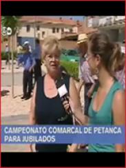 Campeonato comarcal de petanca en Monreal (2009)