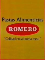 Pastas alimenticias Romero (1994 Aprox.)