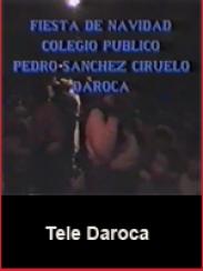 Fiesta de Navidad. Colegio Público Sánchez Ciruelo de Daroca (1995 aprox.)