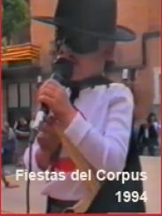 Corpus 1994. Fiesta de disfraces