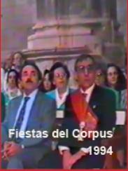 Corpus 1994. Misa y procesión