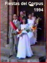 Corpus 1994. Reina y Damas