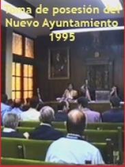 Toma de posesión M.I. Ayuntamiento de Daroca (1995)