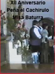 XII Aniversario de la Peña el Cachirulo. Misa baturra (1986)