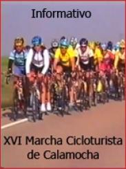 Informativo. XVI Marcha Cicloturista (2004)