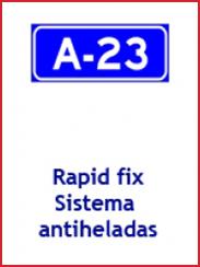 Rapit Fix, Sistema Antiheladas para aspersión automatica de fundente (2008)