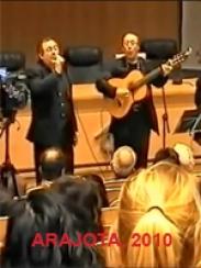 Actuación del grupo Armonía del Jiloca en Arajota 2010. Teruel