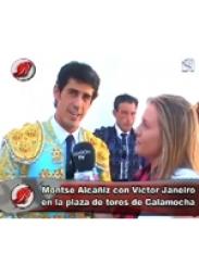 Victor Janeiro en la plaza de toros de Calamocha (2007)