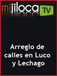 Arreglo de las calles de Luco y Lechago