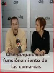 CHA denuncia el funcionamiento de las comarcas (2009)