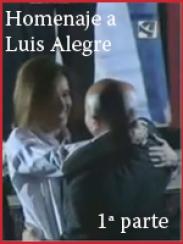 Víctor y Ana en el homenaje a Luis Alegre I (2009)