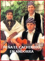 Peña el Cachirulo en el concurso de jotas en Andorra (aprox. 1995)