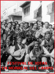 Festival de Jotas en Monreal del Campo (aprox. 1994)