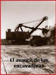 Los taludes mineros y el avance de las excavadoras (1962)