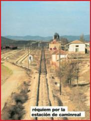 Réquiem por la estación de Caminreal, de Angel Montón