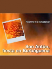 San Antón, Fiesta en Burbáguena